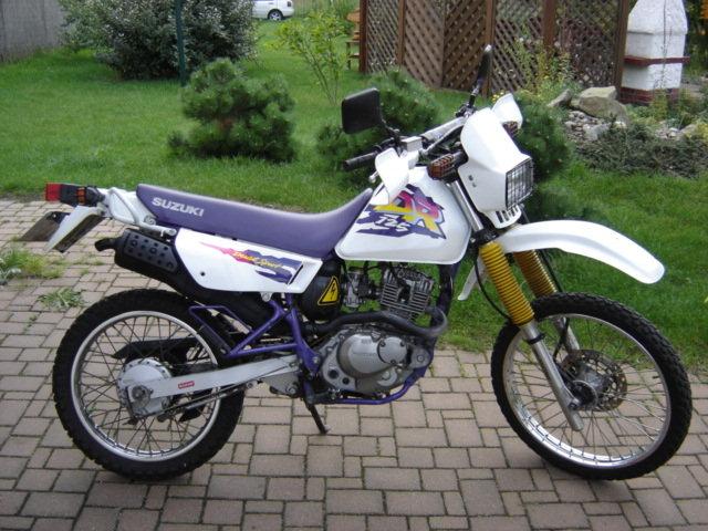Dual Sport Suzuki Drse