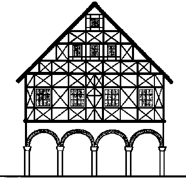 Wittlensweiler for Fachwerkhaus skizze