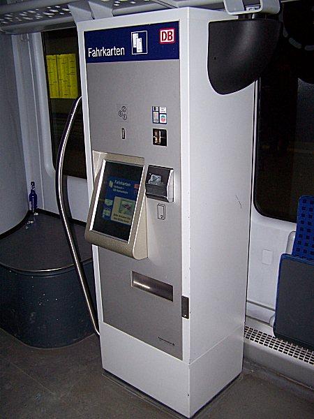 ticketautomat db