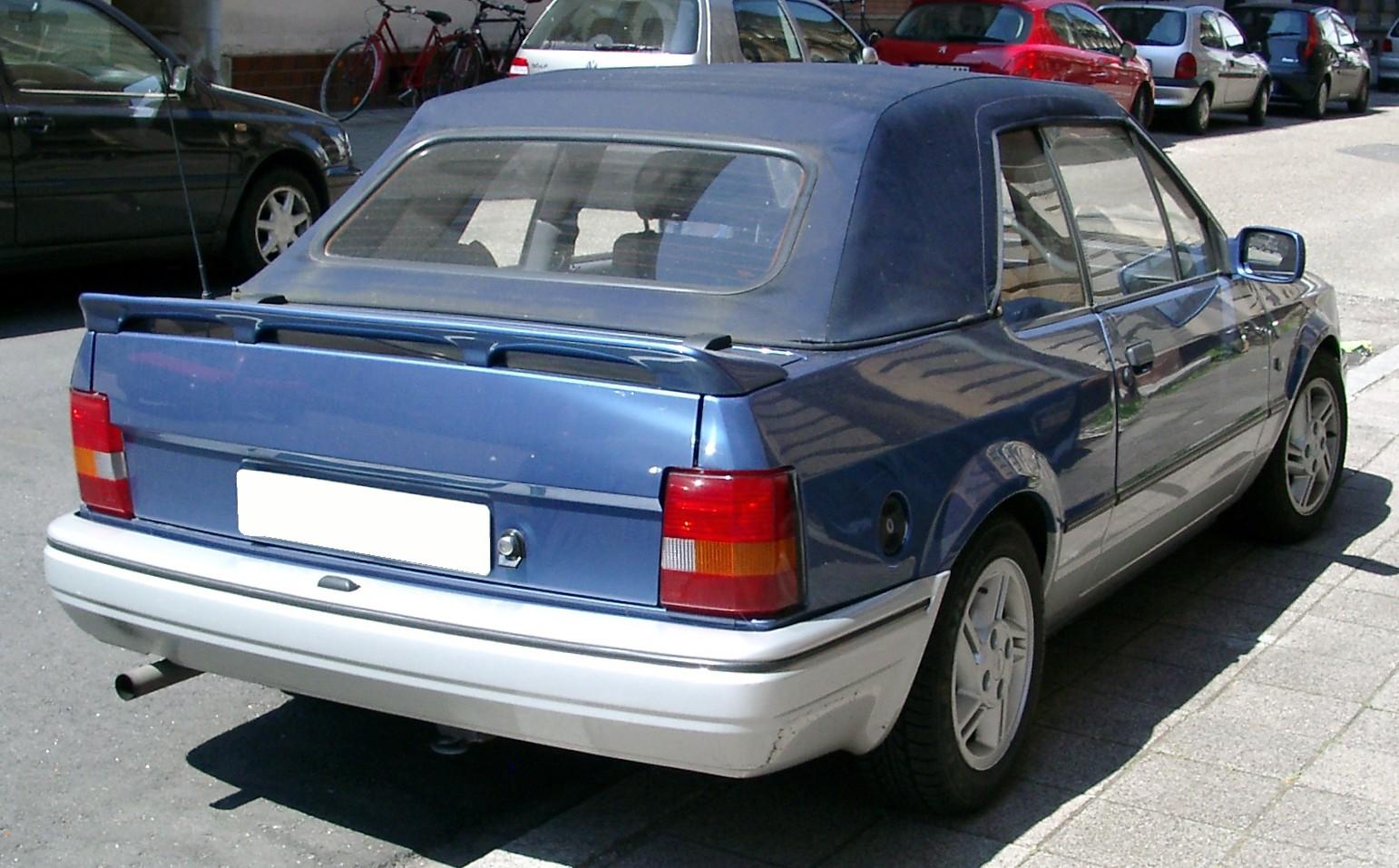 Ford Escort '86 Cabriolet