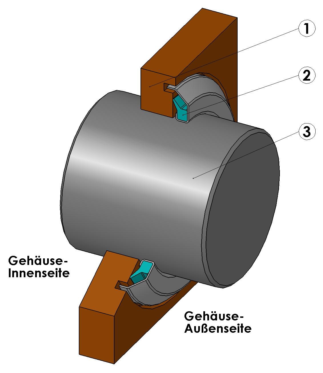 Gamma Seal Ring