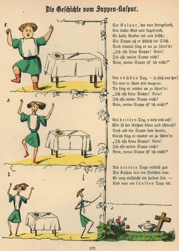Die Geschichte Vom Suppenkasper