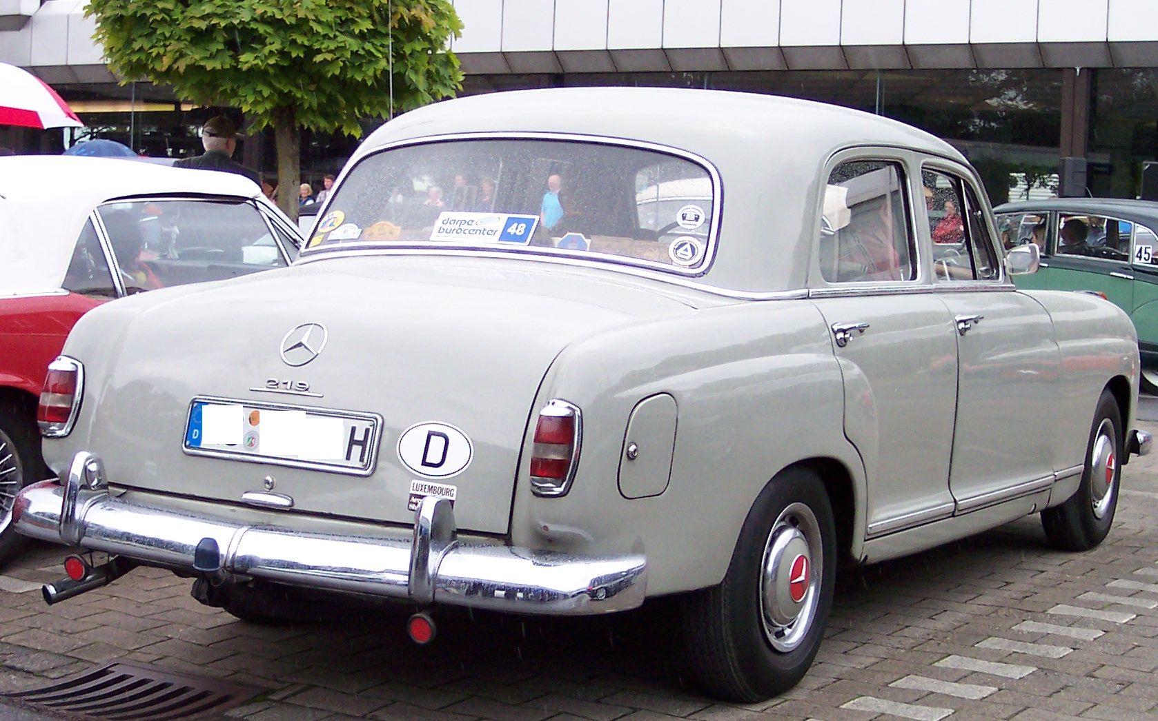 Mercedes, 1953-1962
