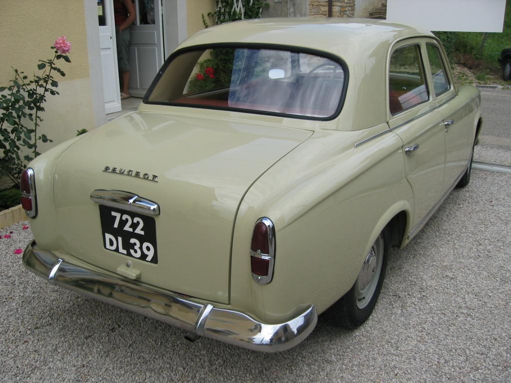 Peugeot 403, 1955-1966