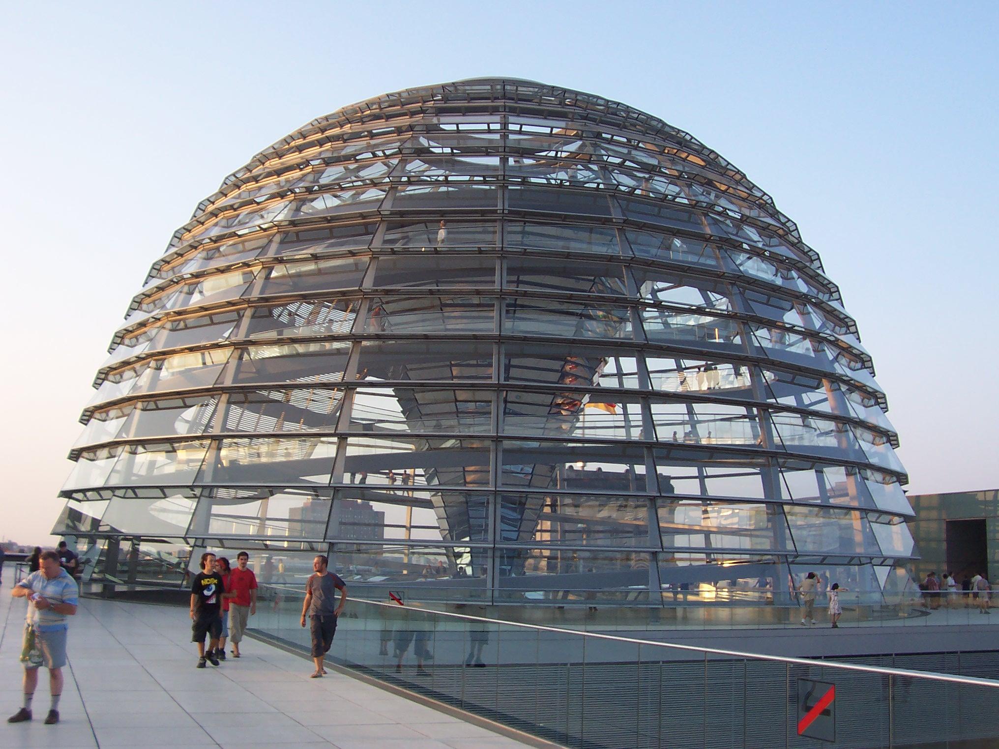 Reichstagskuppel  Reichstagskuppe...