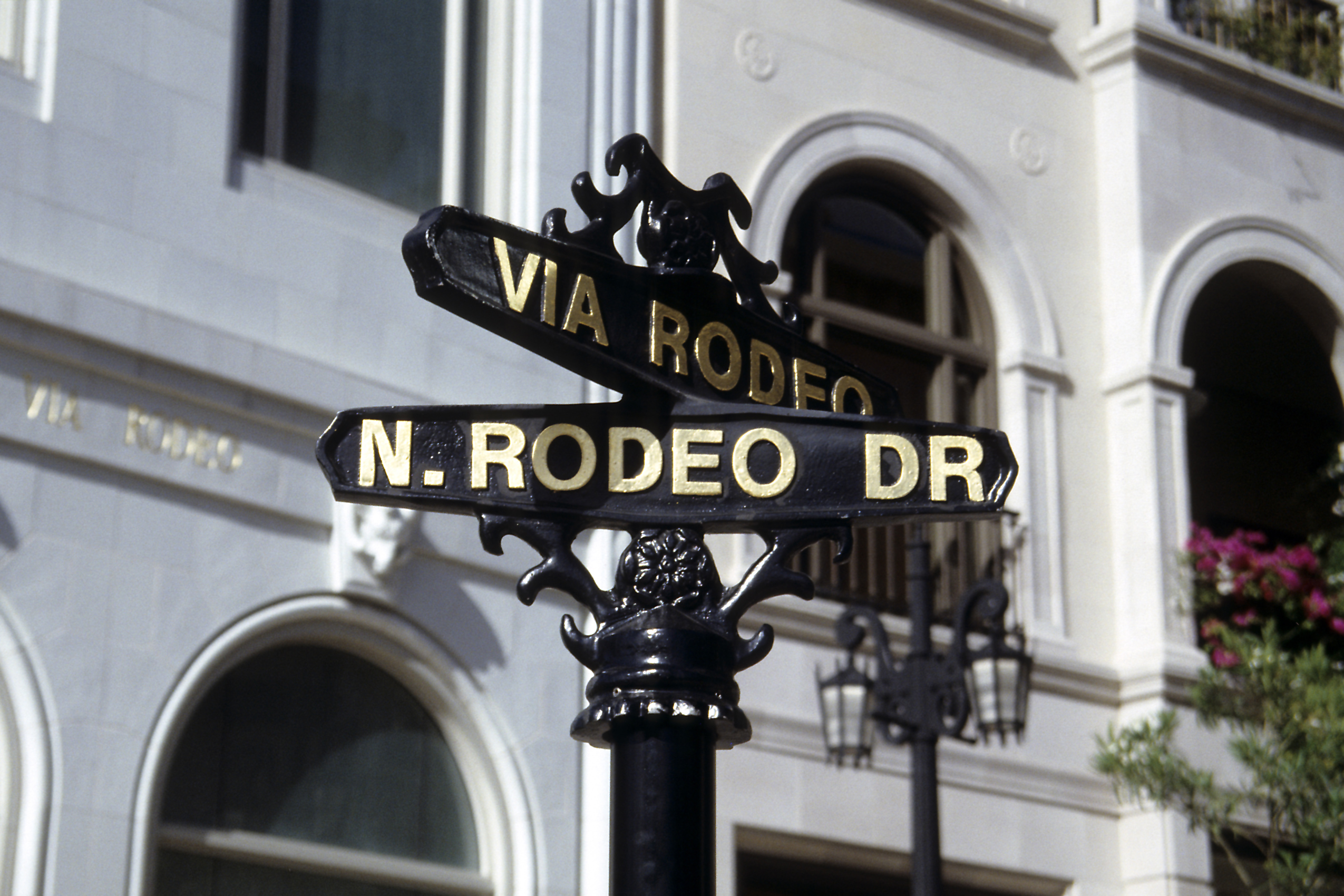 Rodeo Drive Luxury Shopping