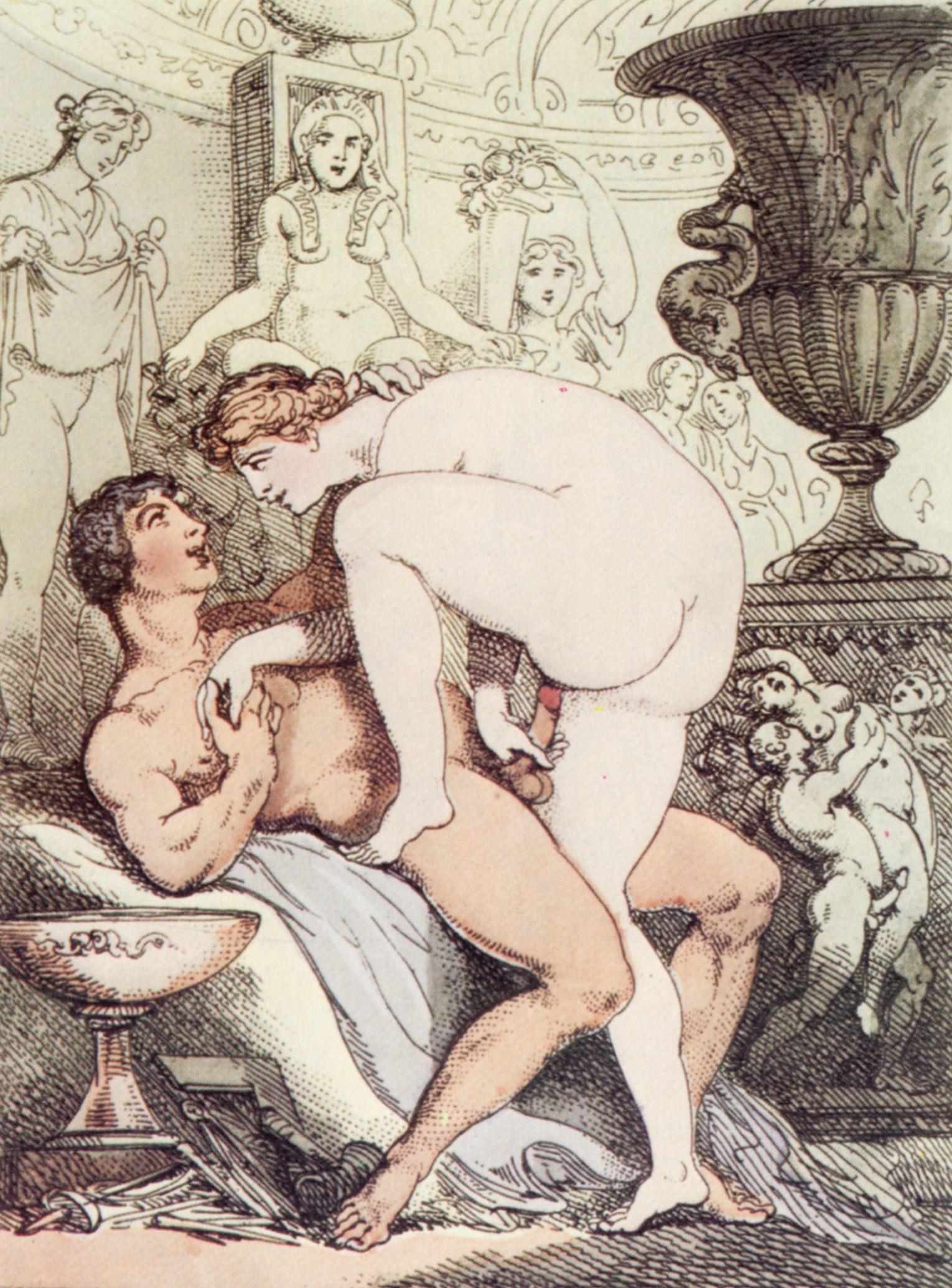 Секс рисунки 18 века 1 фотография