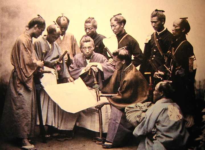 the meiji revolution and the changes in society from bottom up in japan What is the meiji restoration also known as the meiji ishin, revolution  the restoration led to enormous changes in japan's political and social.