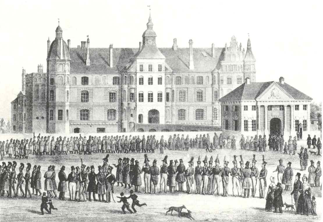Domschule Güstrow: Von Jauch
