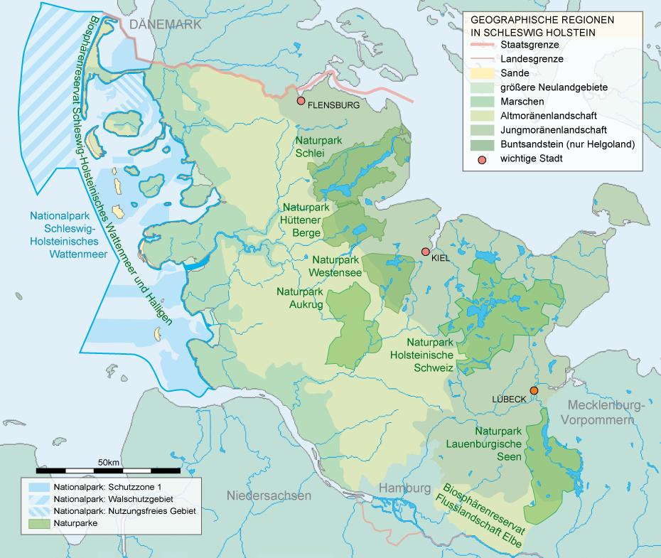 Naturschutzgebiete Schleswig Holstein