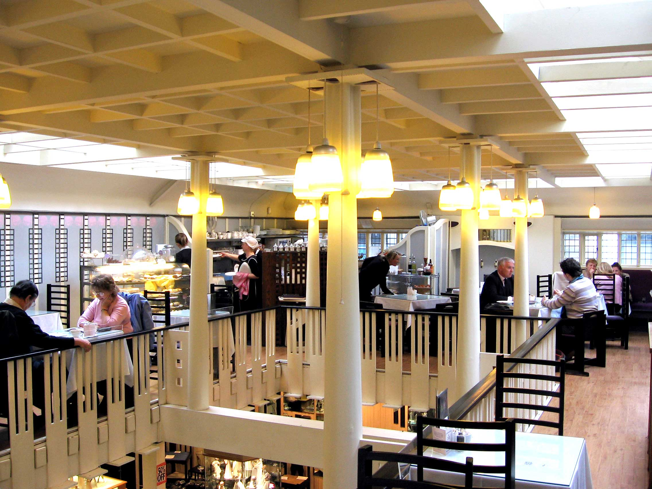 modernity the willow tea rooms The willow tearooms are tearooms at 217 sauchiehall street, glasgow, scotland, designed by internationally renowned architect charles rennie mackintosh, which opened for business in october 1903.