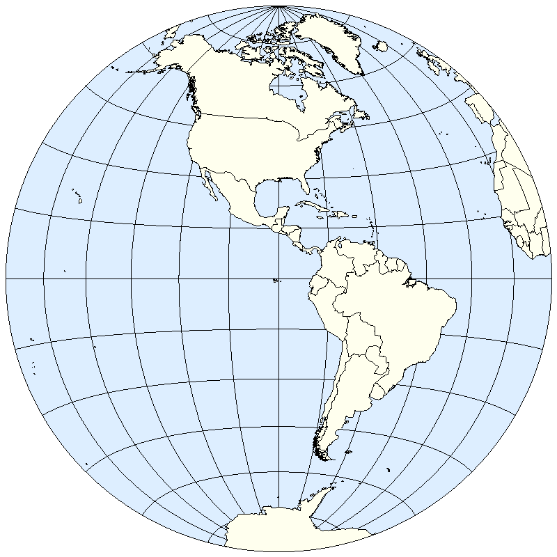 Northern Hemisphere Map Blank for Pinterest