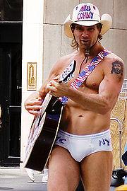Naked Cowboy, Robert John Burck - Naked Cowboy Photos