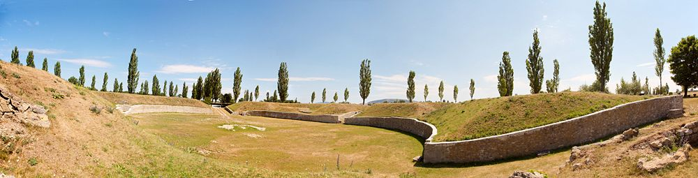 Amphitheater in Carnuntum