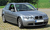 BMW 316ti Compact M-Sportpaket (E46) Facelift front-1 20100627.jpg