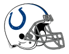 Helm der Indianapolis Colts