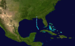 1969 Atlantic subtropical storm 1 track.png