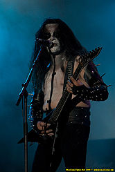 Immortal (Abbath) beim Wacken Open Air 2007