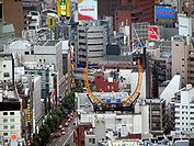 Roppongi Intersection from Tokyo Tower day.jpg