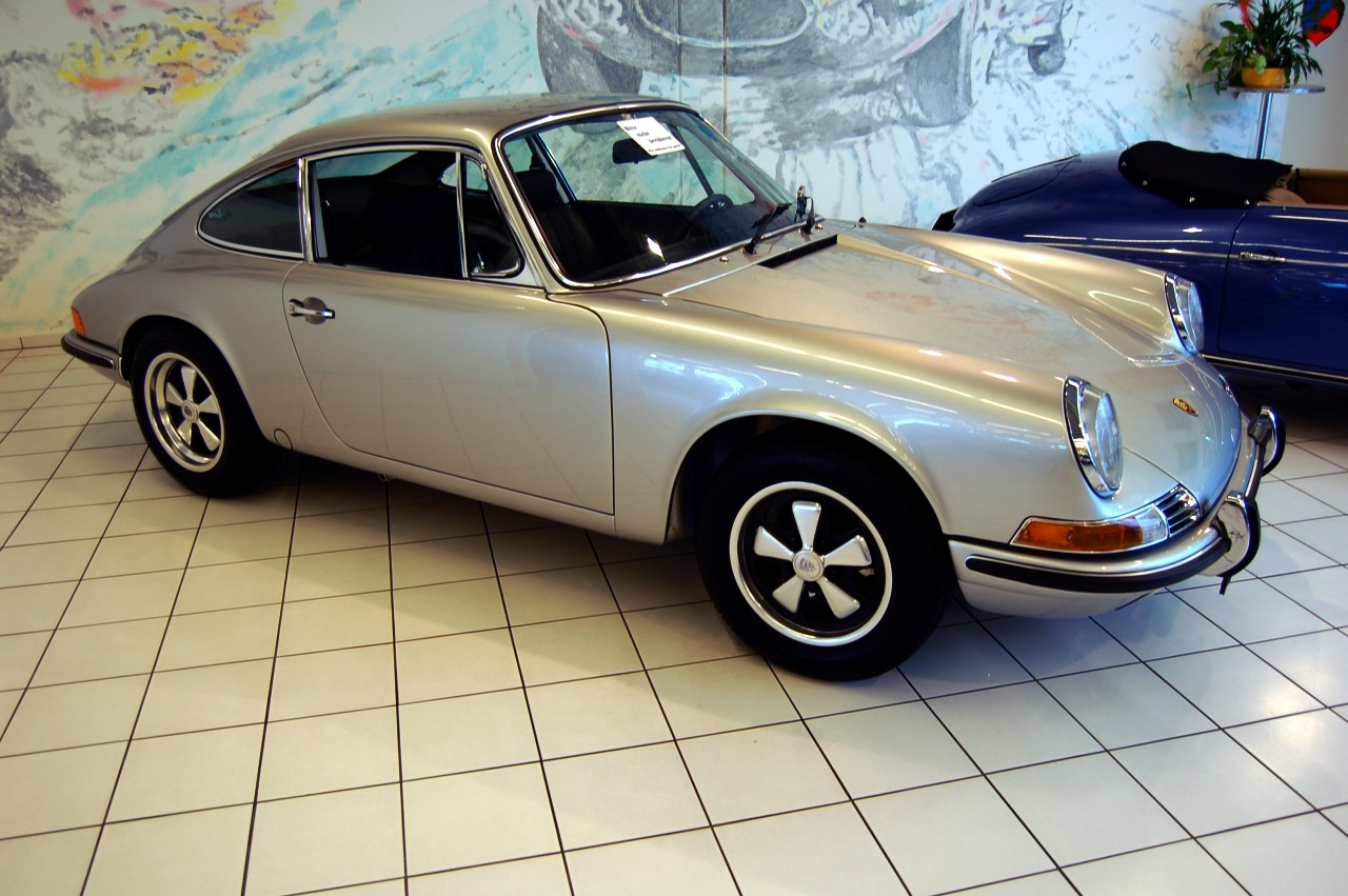 and a classic Porsche,