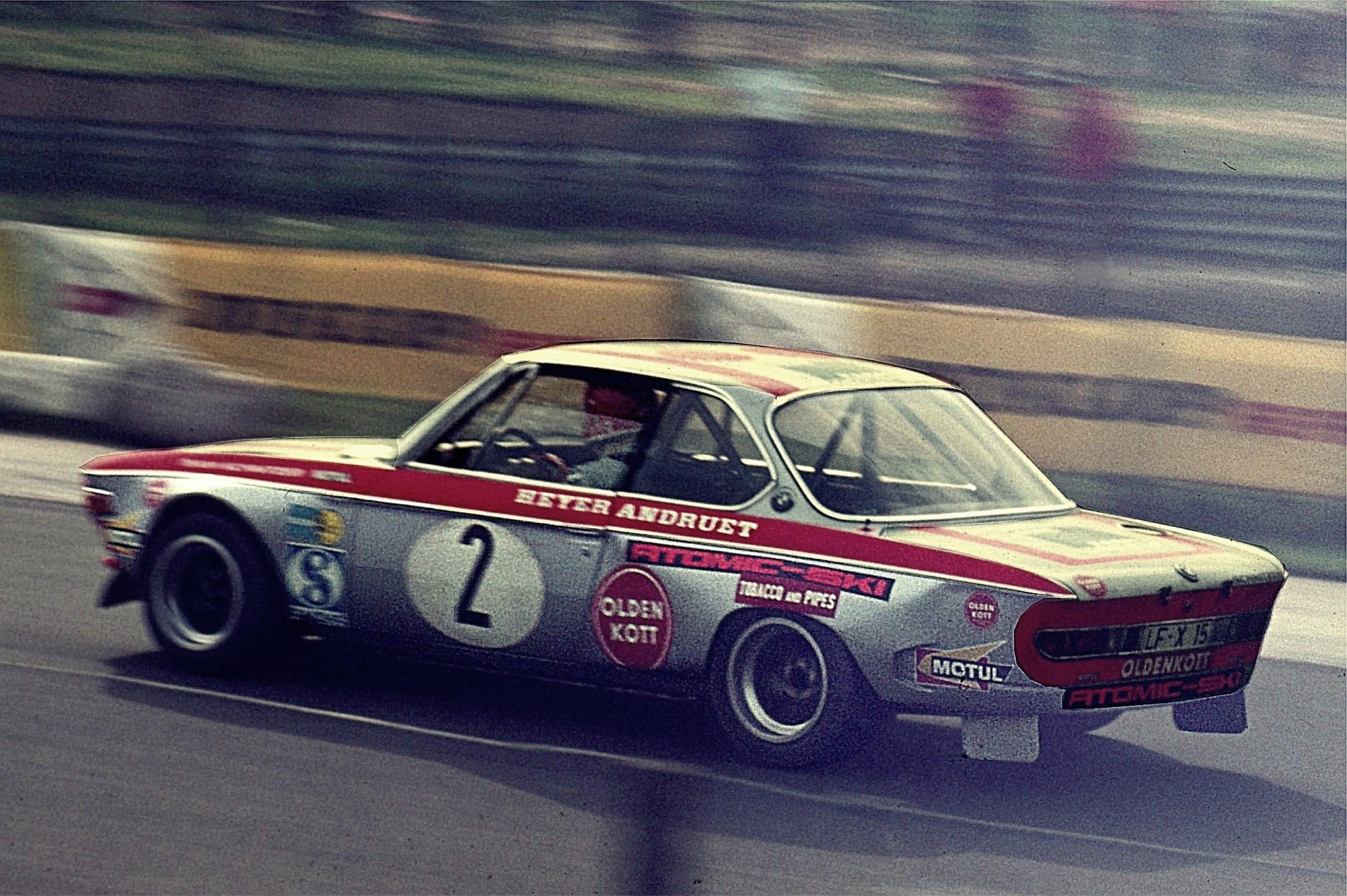 1972 im BMW 2800 CS