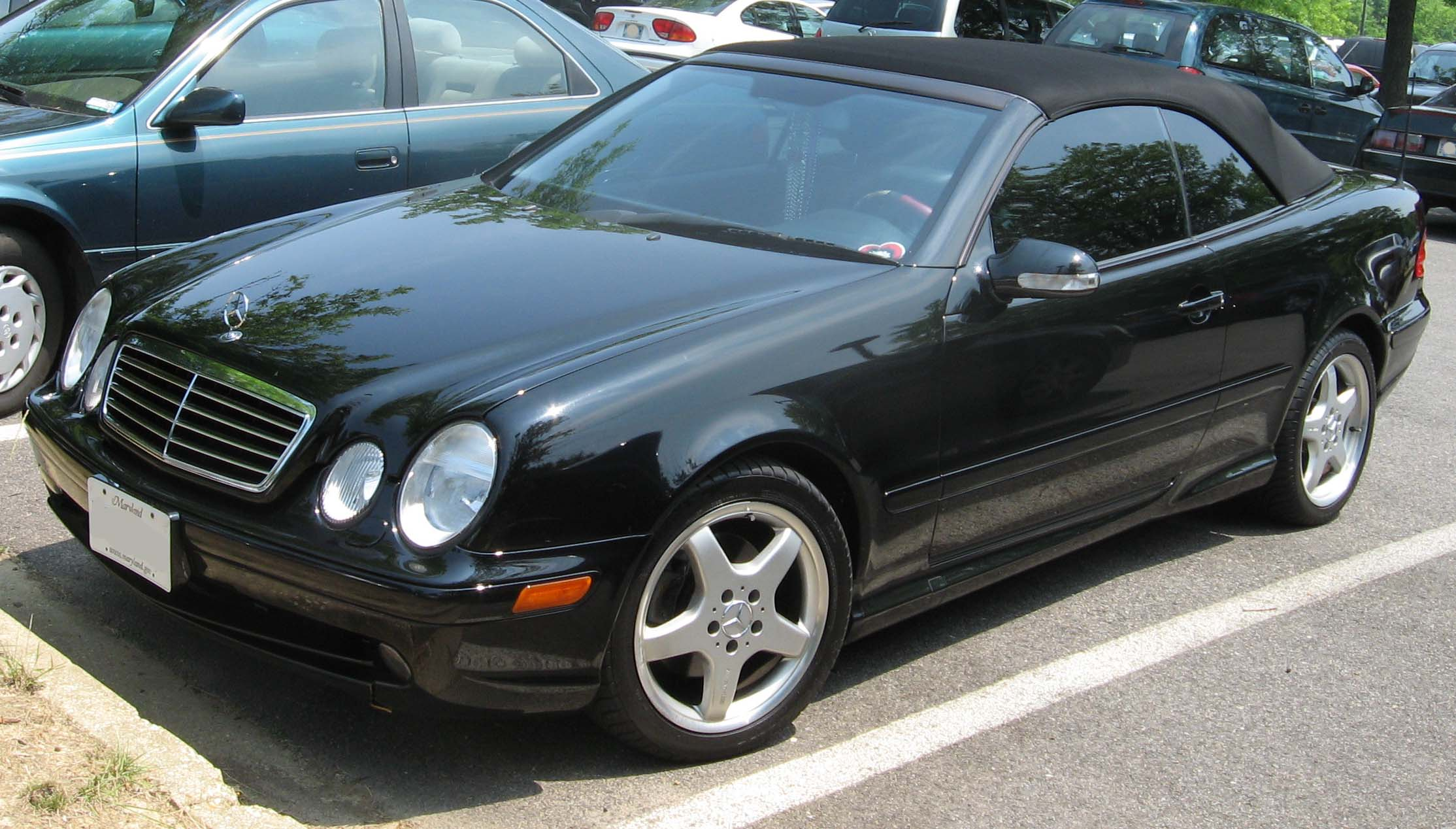 Mercedes benz w208 for Mercedes benz clk 500