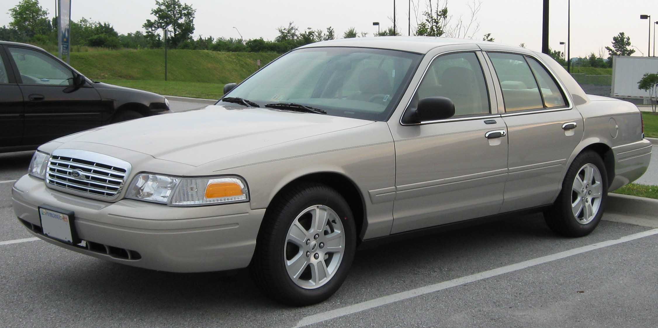 Ford Crown Victoria, 2003–2007