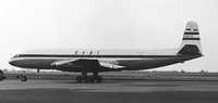 Comet 1 der BOAC am London Heathrow Airport