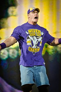 John Cena bei Tribute to the Troops 2010.