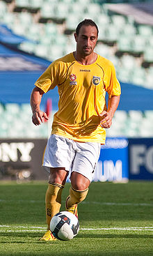 Ahmad Elrich im Dress der Central Coast Mariners (2009)
