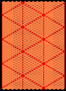 dreiecknetzpapier