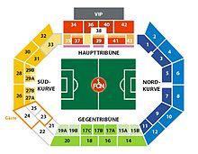 Grünwalder Stadion Sitzplan