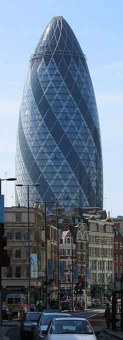 30 St Mary Axe (Swiss Re-Tower)