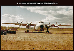 Armstrong-Whitworth A.W.650 Argosy