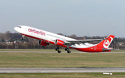 Airbus A330-300 der Air Berlin