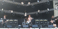 Airbourne; Sauna Open Air Festival 2008