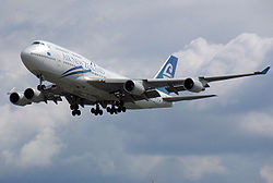 Boeing 747-400 der Air New Zealand