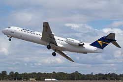 Alliance Airlines Fokker 100
