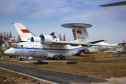 Antonov An-71 at Ukraine State Aviation Museum.jpg