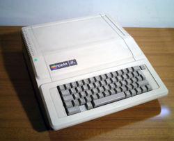 A Apple IIe