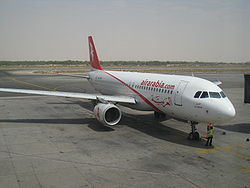 Airbus A320 der Air Arabia