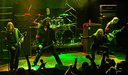 Arch Enemy live 2008