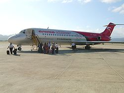 DC-9 der Aserca Airlines