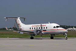Beechcraft B1900D der Atlantique Air Assistance