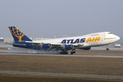 Boeing 747-200 der Atlas Air