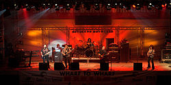 Blue Öyster Cult live, Santa Cruz Beach Boardwalk, Kalifornien, USA, 25. Juli 2008
