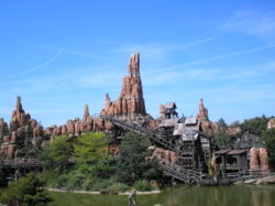 Big Thunder Mountain in Paris
