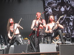 "Belphegor beim ""Summer Nights Open Air"" 2009"