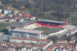 Brann-Stadion im Winter 2007