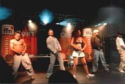 Bro'Sis live beim Maschseefest in Hannover (2003)
